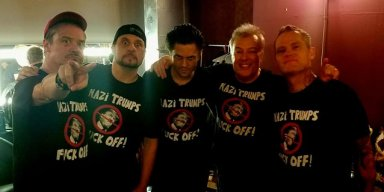JELLO BIAFRA Performs TRUMP Version Of 'Nazi Punks F**k Off' With DEAD CROSS (Video)