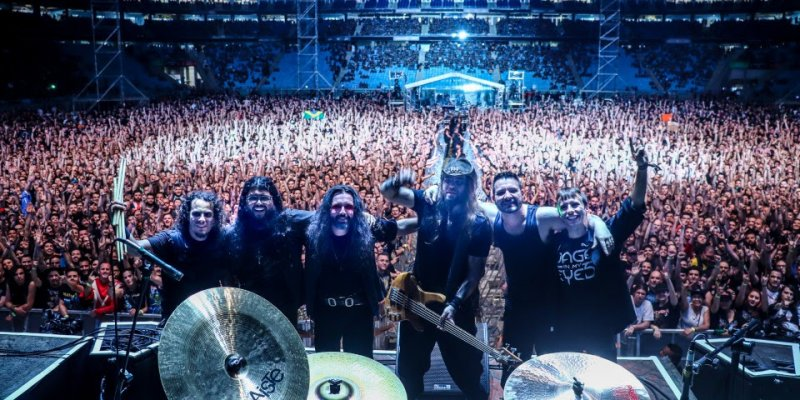 RAGE IN MY EYES Release Special Live Chat, Talking About Their Show With IRON MAIDEN One Year Ago!