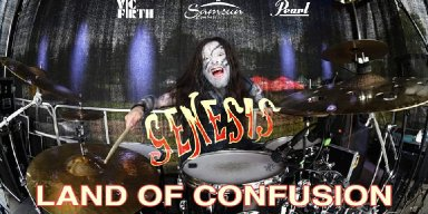 "WELICORUSS' Drummer Covers GENESIS' ""Land Of Confusion""!"