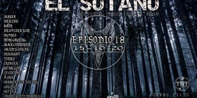 JOURNEY INTO DARKNESS - The Insignificance - Streaming At EL SOTANO 18 - Extreem Metal Radio Show - TNT Radio