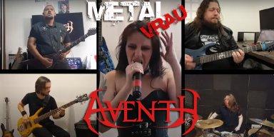 METAL VRAU divulgando material autoral da banda AVENTH!