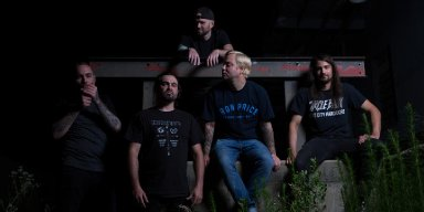 """VIOLENT LIFE VIOLENT DEATH: Lambgoat Premieres """"Dead With Me"""" By North Carolina Metallic Hardcore Outfit; The Color Of Bone To See Release Through Innerstrength Records Next Week"""