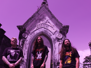 ROMASA: Invisible Oranges Premieres Insufferable Cave Of Rotting Aspiration From New Orleans Sludge/Crust/Death Trio; EP To See Release This Friday Via Hand Of Death Records