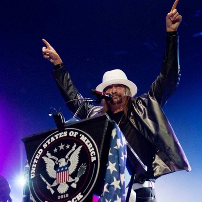 Kid Rock gave his first political speech, and it was fucking nuts