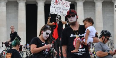 Juggalos Far Outnumber Trump Supporters in Washington D.C. March