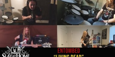 "MEGADETH + CARCASS + TESTAMENT + ABYSMAL DAWN Members Cover ENTOMBED A.D.'s ""Living Dead""!"