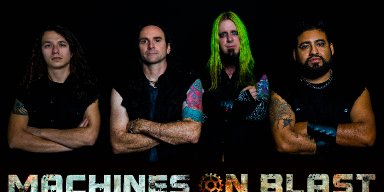 New Promo: Machines On Blast - Black Market Happiness (Industrial Metal)