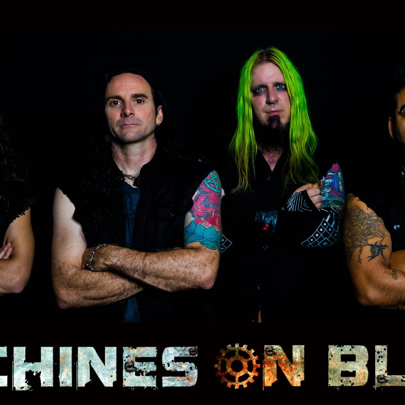 New Promo: Machines On Blast - Black Market Happiness (Industrial Metal)