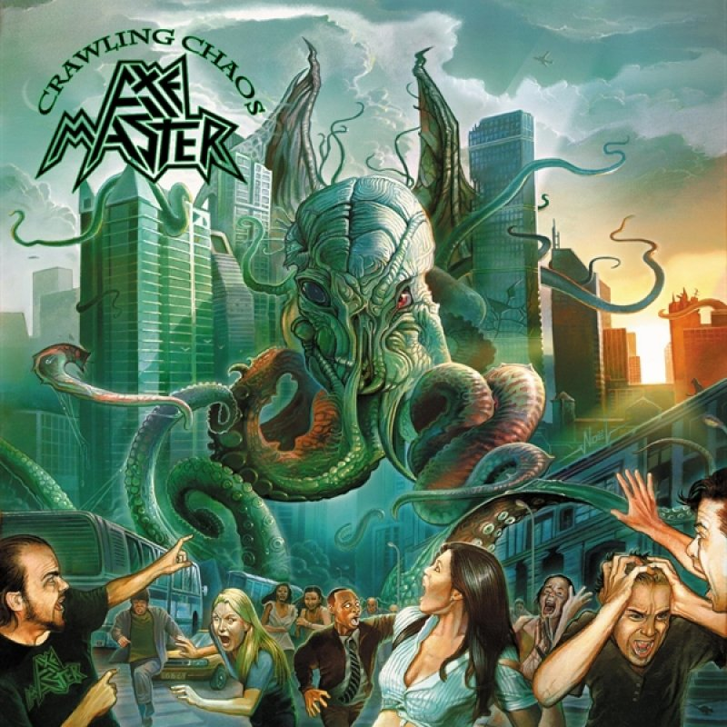 """New AXEMASTER album """"Crawling Chaos"""" release date"""