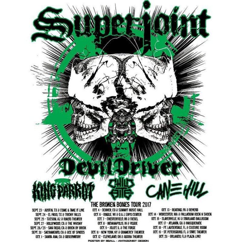 SUPERJOINT Kicks Off US Tour TONIGHT! VIP Meet & Greet Tickets Available