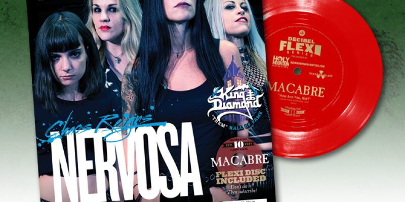 Nervosa, The Most Anticipated Albums of 2021 and So Much More in the Latest Issue of Decibel!