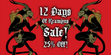 12 Day Krampus Sale - 25% Off All Promo Packs!