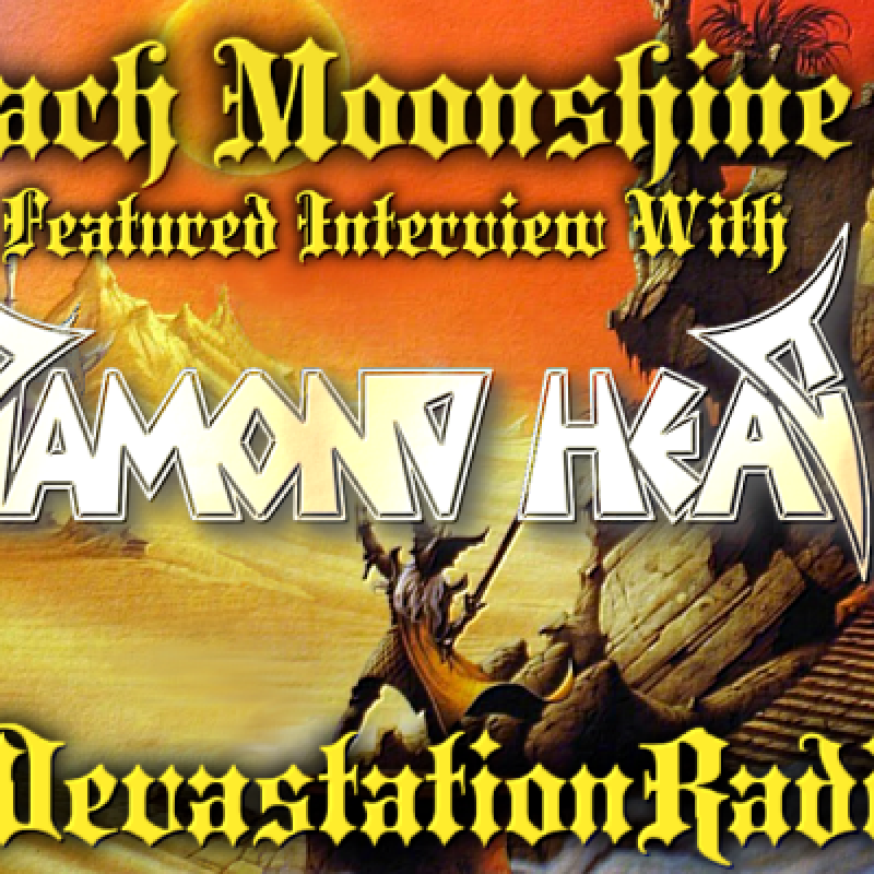 Diamond Head - Featured Interview & The Zach Moonshine Show