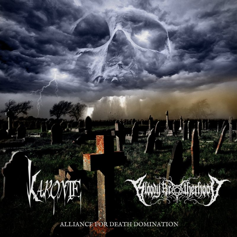 "KARONTE/BLOODY BROTHERHOOD ""Alliance for death domination"" Split Ep"