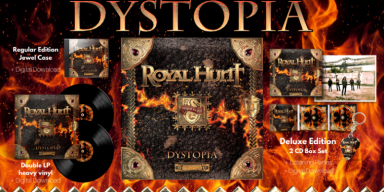 """ROYAL HUNT - """"Dystopia"""" - Featured In Sweden Rock Magazine!"""