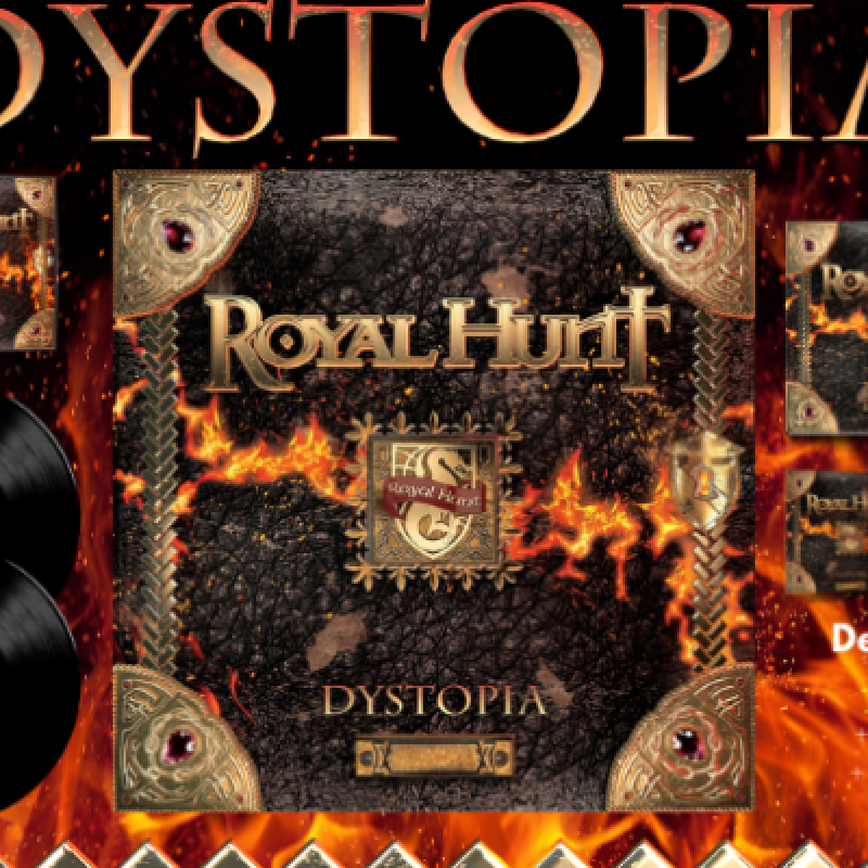 """ROYAL HUNT:  """"DYSTOPIA"""" - Featured At World Of Metal!"""