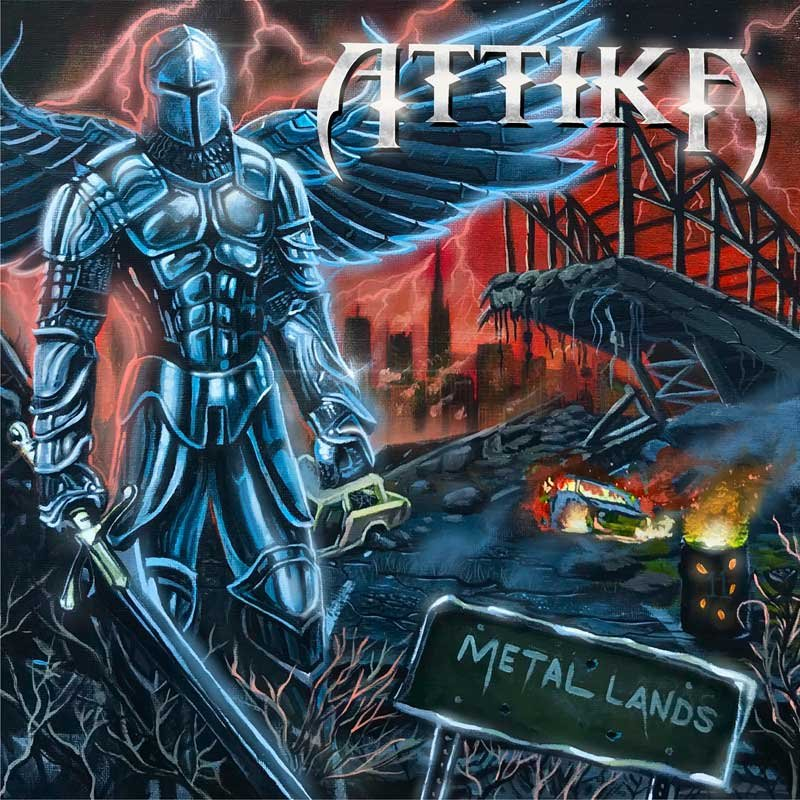 ATTIKA - Metal Lands - Release date: Friday, February 26th 2021