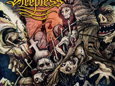 "SLEEPLESS Release ""Deluded Hordes"" Lyric Video"