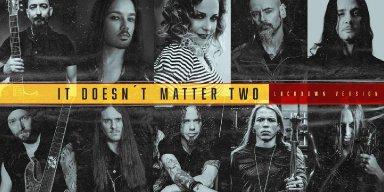 "Esteemed Musicians from Metal Community Join Brazilian Artist LIBRA on Stunning Cover of Depeche Mode's ""It Doesn't Matter Two"""