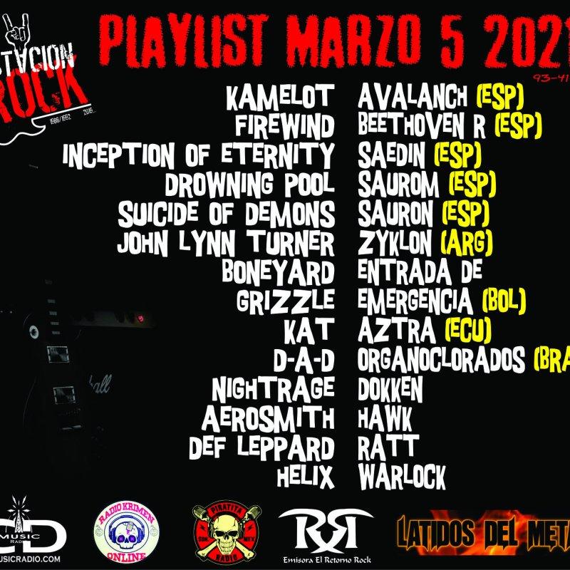 BONEYARD, INCEPTION OF ETERNITY and GRIZZLE Streaming At Estación Rock!