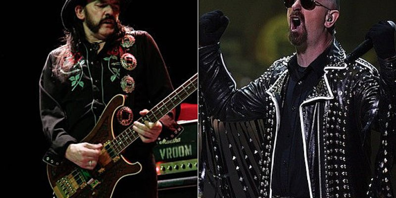 """JUDAS PRIEST FRONTMAN ROB HALFORD - """"I'VE LOOKED UP TO LEMMY KILMISTER FOR 50 YEARS"""""""