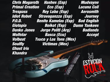 CHRIS MARAGOTH, WOLFSTAR and IDIOT ROBOT - Streaming At Estación Rock!