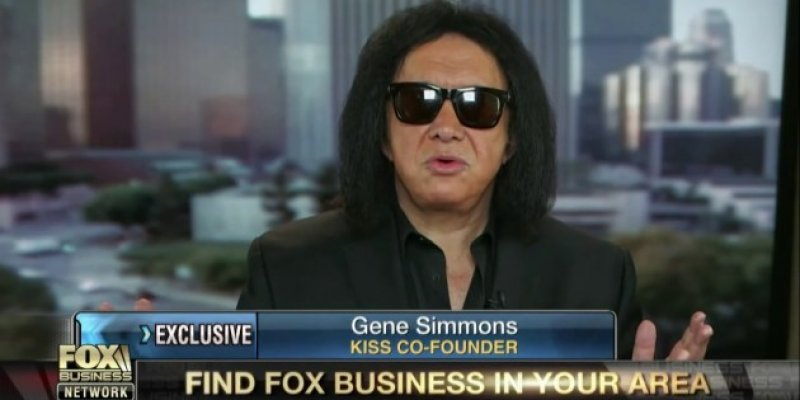 KISS' Gene Simmons Banned For Life from FOX News For Inappropriate Behavior