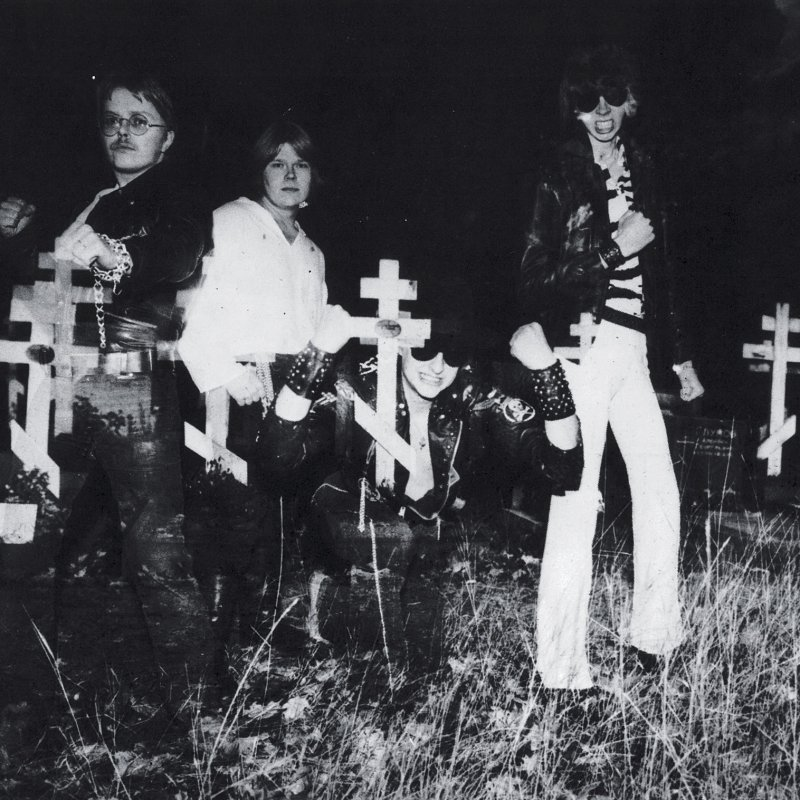 SARCOFAGUS to have cult second album from 1980 reissued by NUCLEAR WAR NOW! - streaming in full now