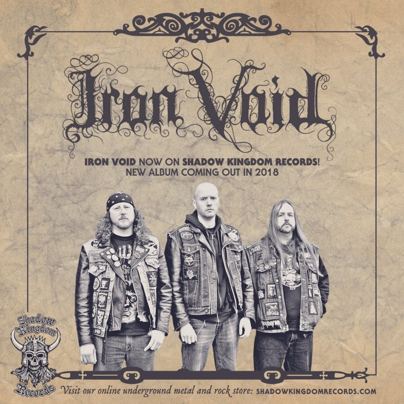 IRON VOID sign with SHADOW KINGDOM, new album set for next year