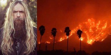 California Wildfires a Threat to Zakk Wylde's Home