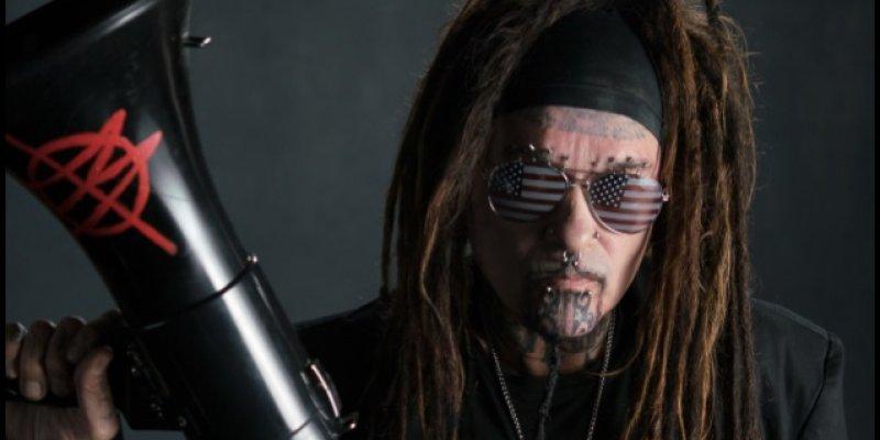 MINISTRY: 'AmeriKKKant' Cover Artwork Unveiled; 'Antifa' Music Video Released