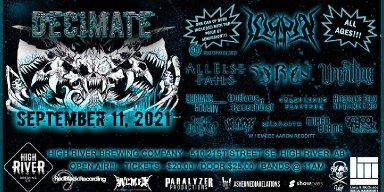 Decimate Open Air Mini-Metal Fest (High River, AB) Announce 2021 Line-Up