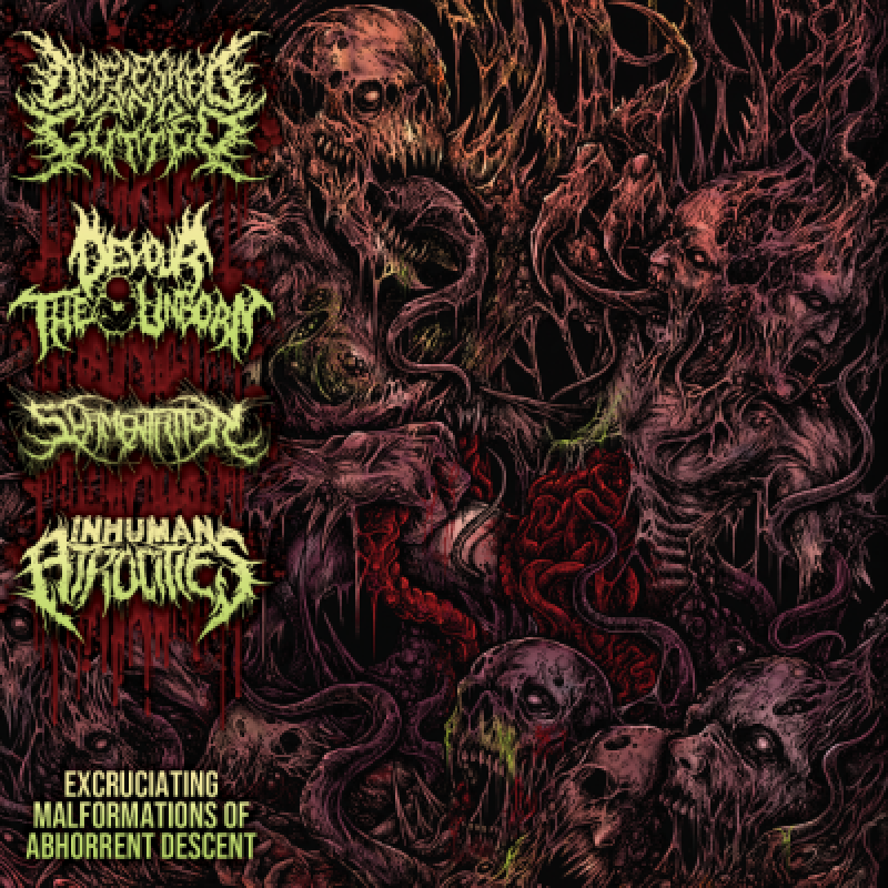 Excruciating Malformations of Abhorrent Descent - Reviewed By Metal Digest!