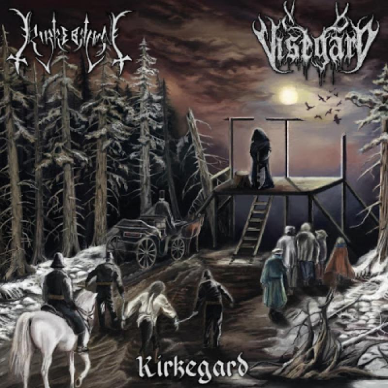 "New Split: Kirkerbran / Visegard - "" Kirkegard "" - Featured At Mtview Zine!"