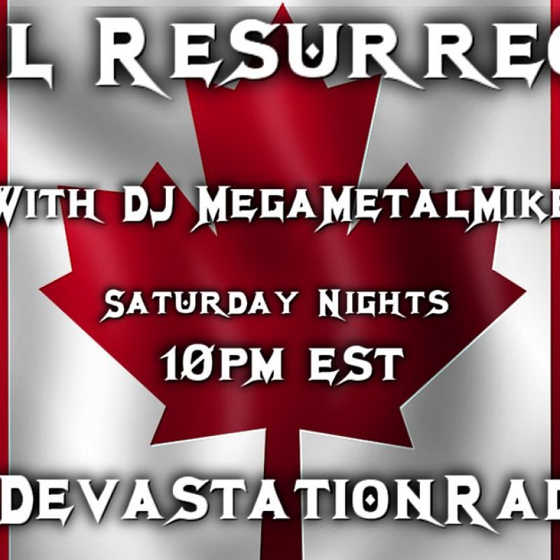 Metal Resurrection Radio Show - Full Show & Phone Interview with Aggravator