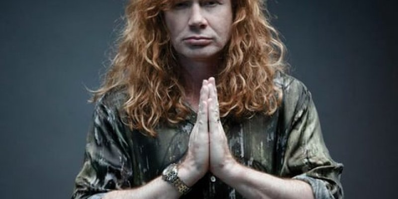 MEGADETH's DAVE MUSTAINE Would Love To Play 'Big Four' Show Where All Bands 'Got Treated Fairly'