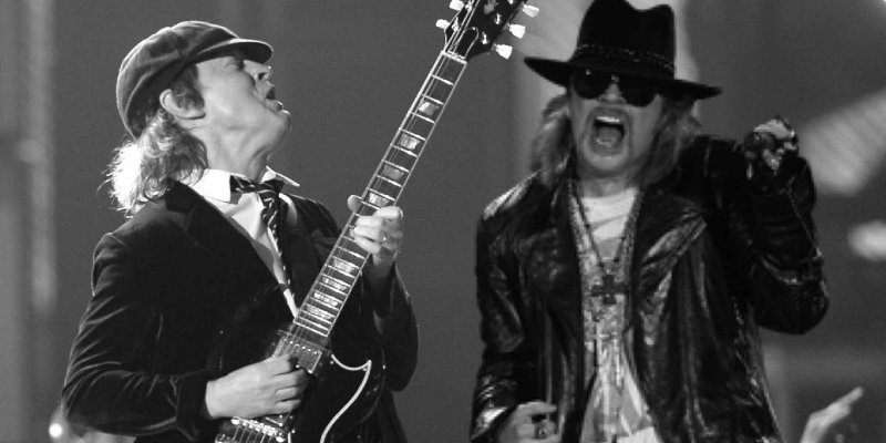 AC/DC will tour and record new album with Axl Rose!