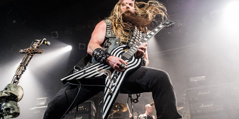 """ZAKK WYLDE """"We're having a birthday cake that says 'Happy birthday, BLACK LABEL SOCIETY. 30 more years to go to catch THE ROLLING STONES. Get to work, you rookies.'"""""""