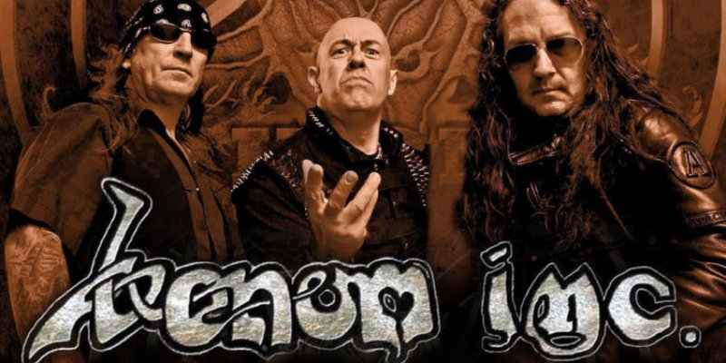 VENOM INC. TO TOUR WITH SUFFOCATION IN MARCH.