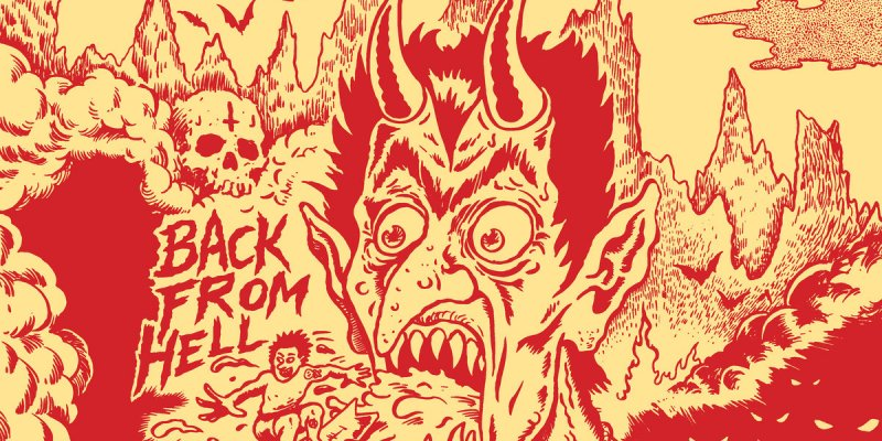 Their first studio record in a lucky 13 years, Back From Hell is quintessential SATANIC SURFERS!