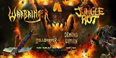 Devastating Tour Alert: Destruction, Jungle Rot, and Warbringer