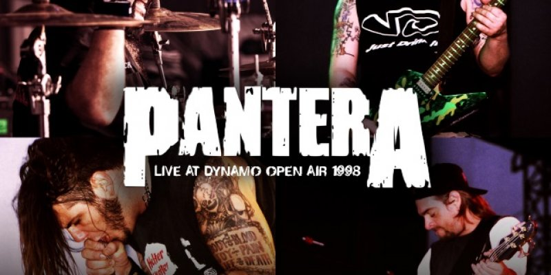PANTERA and SOULFLY Live Recordings From DYNAMO OPEN AIR To See Light Of Day In June
