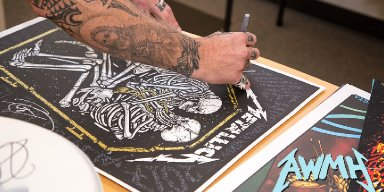 Bid to Win Experiences & Autographed Items From Metallica, Benefiting All Within My Hands!