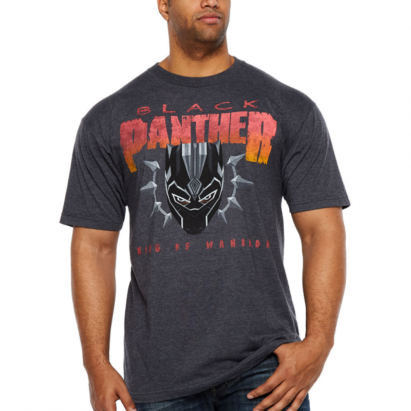 Black Panther Gets Officially Licensed Black Sabbath and Pantera Parody T-Shirts?