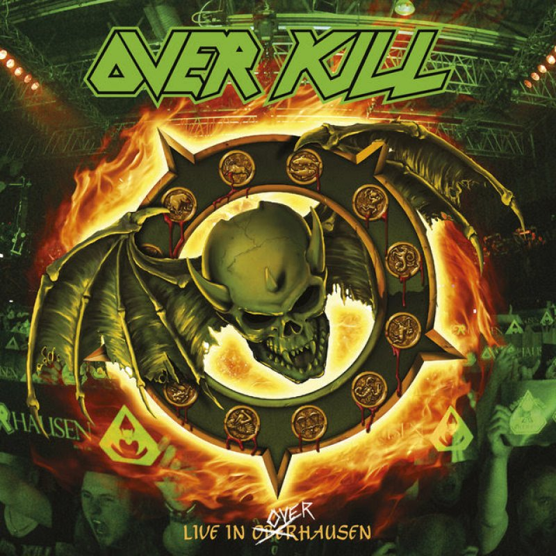 OVERKILL release first single from 'Live at Overhausen'.