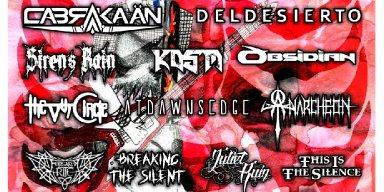 METALOCALYPSTICK Fest Announces 2018 Line Up w/ Cabrakaan, DelDesierto, KOSM, Obsidian and more!