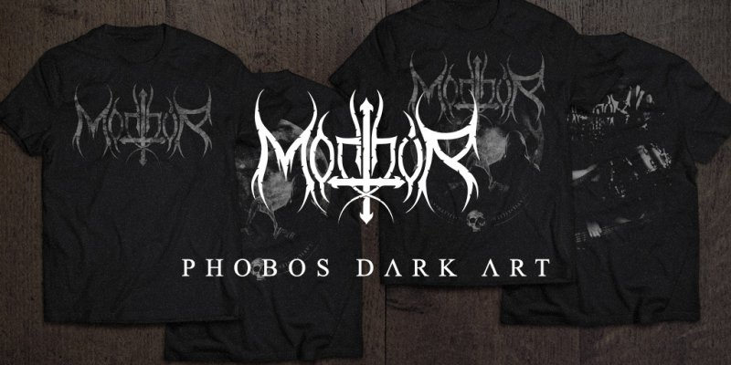 Morthur: In partnership with Phobos Dark Art, band presents new line of t-shirts