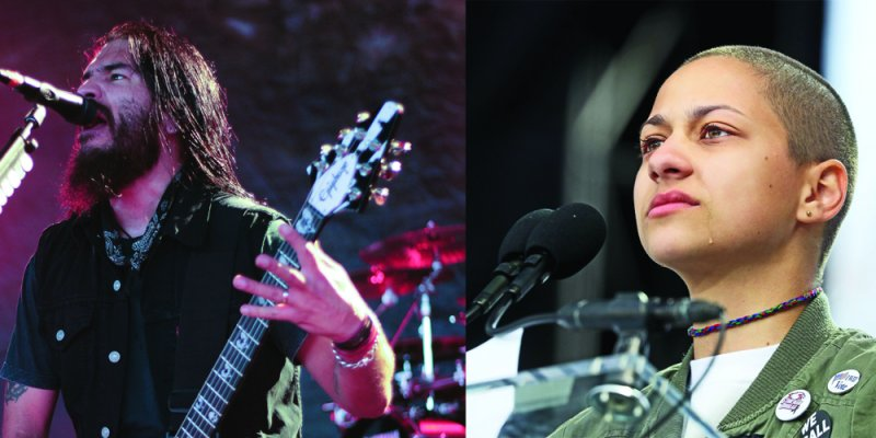 "Machine Head's Robb Flynn Celebrates #NeverAgain Leader Emma González as a ""Hero""!"