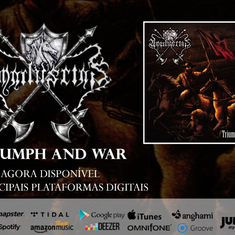 """Amaduscias: """"Triumph And War"""" is now available on major streaming platforms, check it out!"""