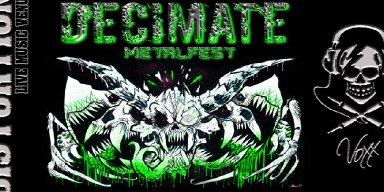 Calgary's DECIMATE MetalFest Announces 2018 Line-Up